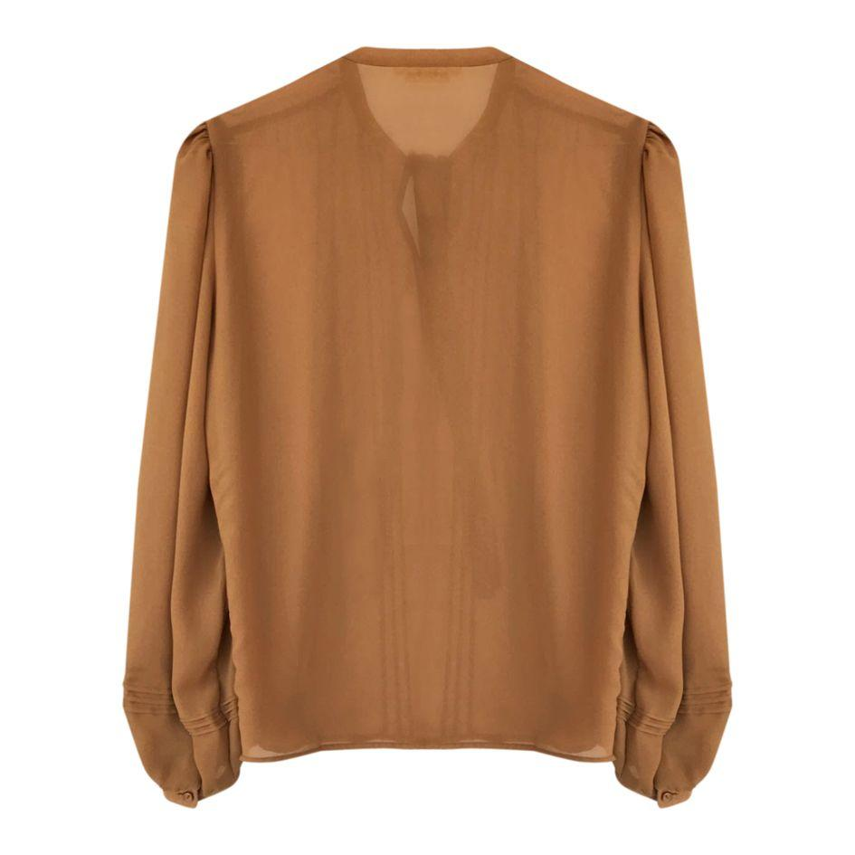 Tops - Blouse moutarde