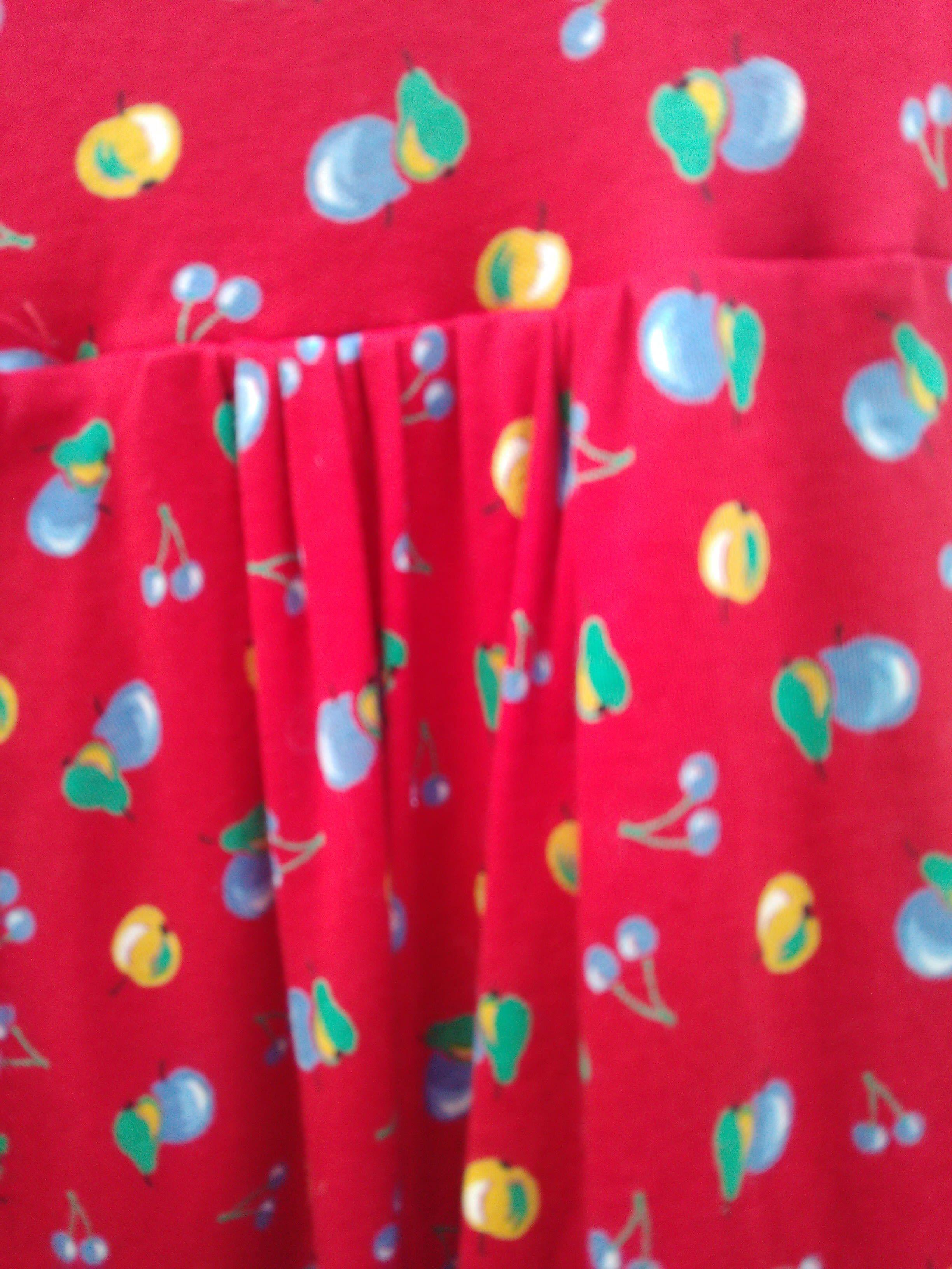 Robes - Robe fruits