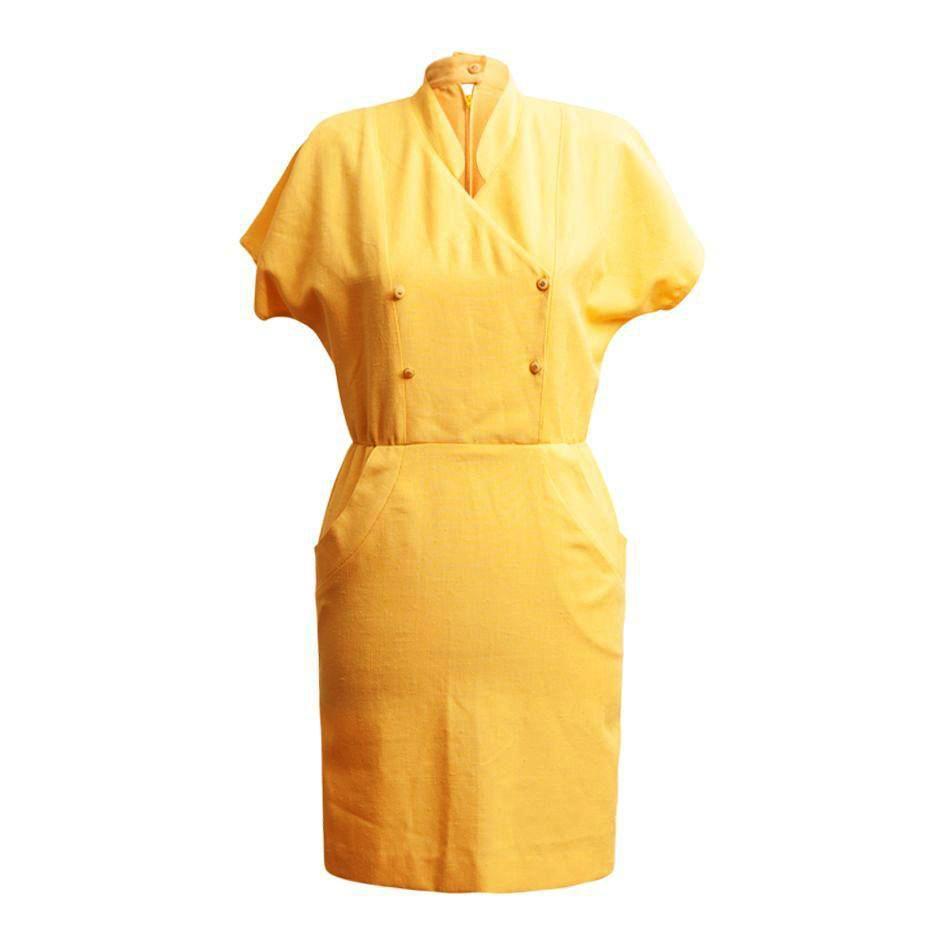 Robes - Robe jaune