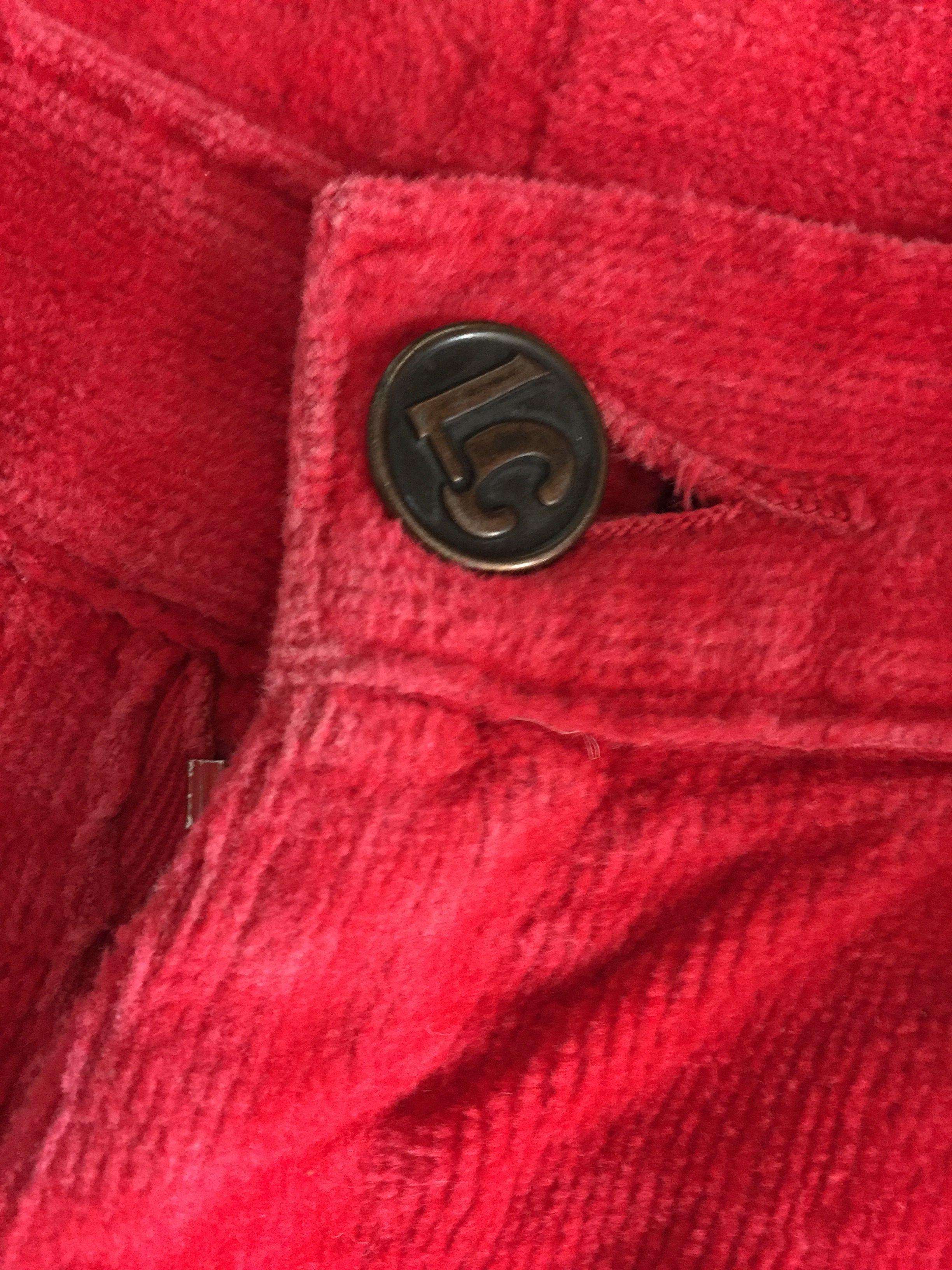 Pantalons - Pantalon flare en velours côtelé