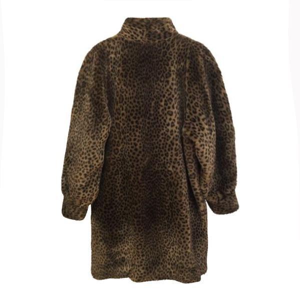 Manteaux - Manteau fausse fourrure léopard