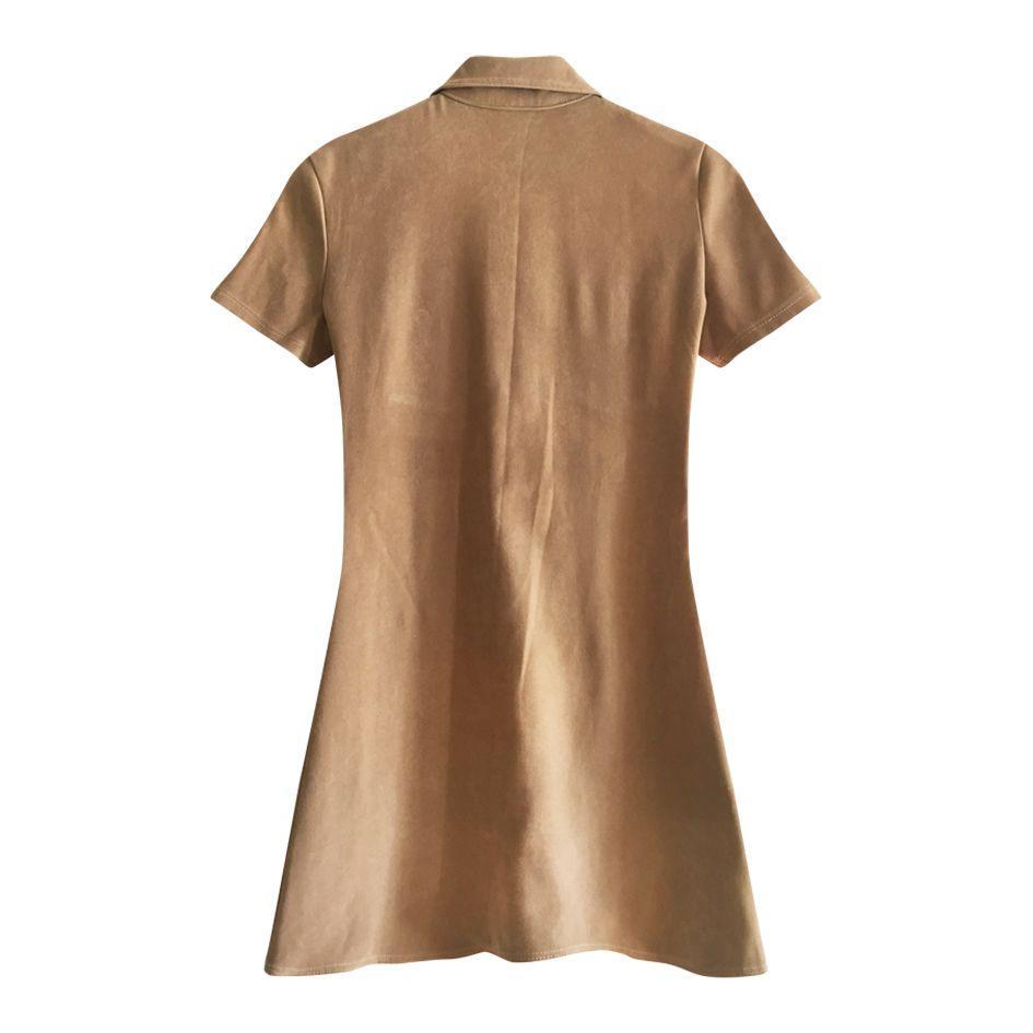 Robes - Robe 60's camel