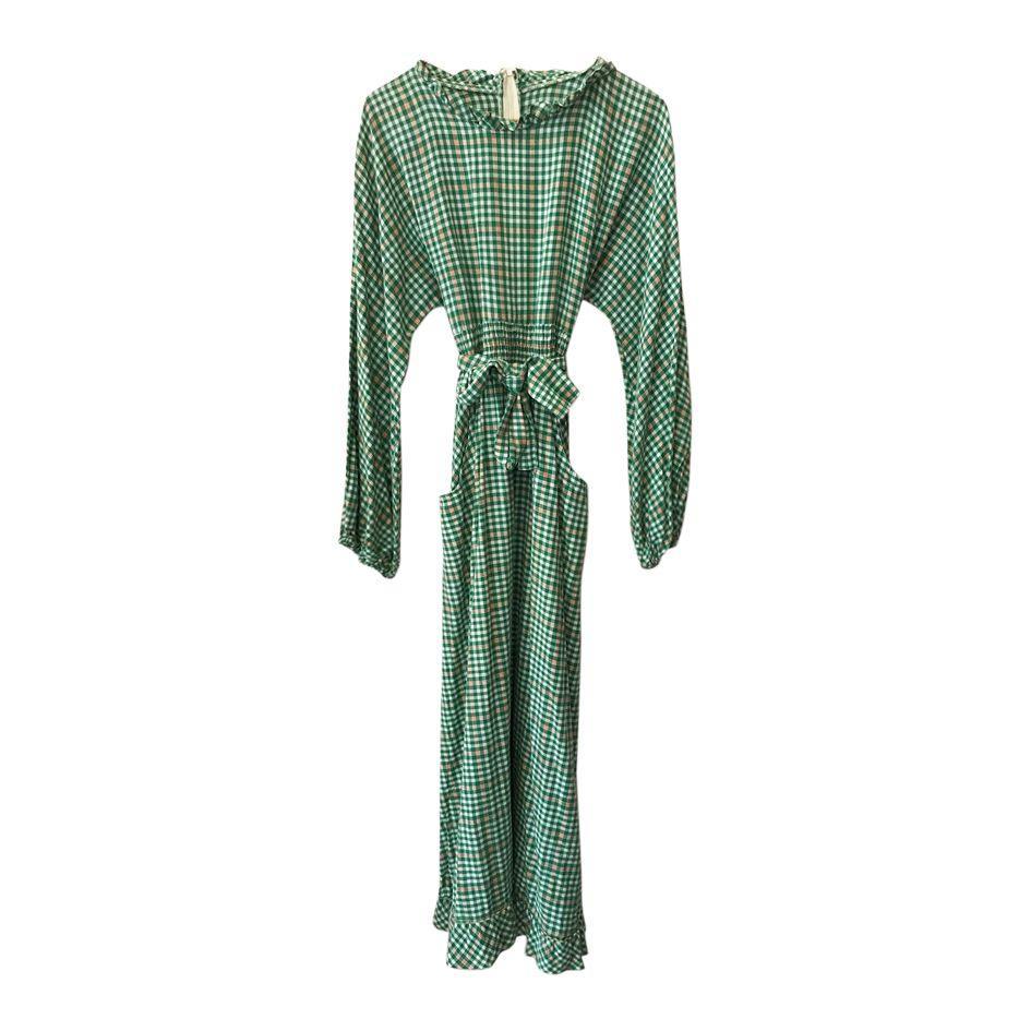 Robes - Robe longue à carreaux