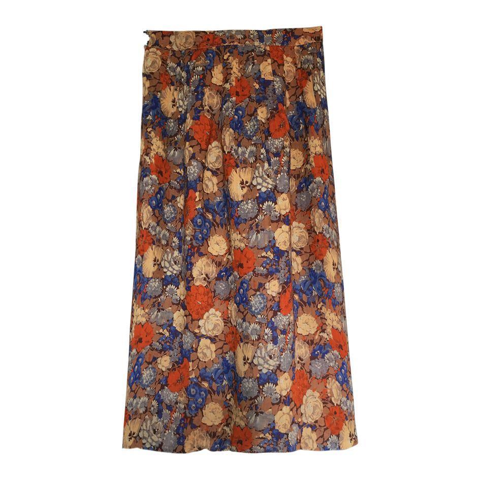 Jupes - Jupe longue fleurie