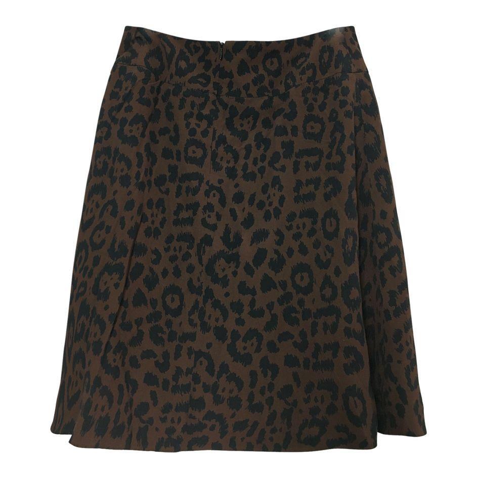 Jupes - Jupe portefeuille léopard