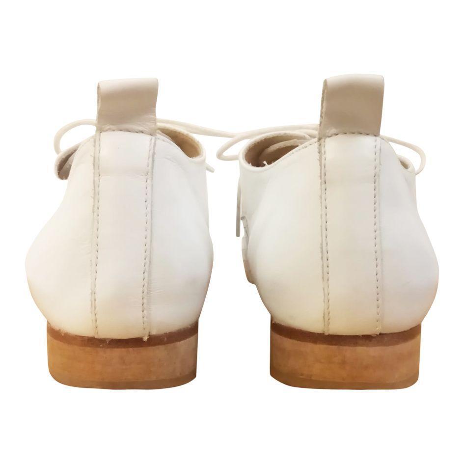 Accessoires - Derbies blanches