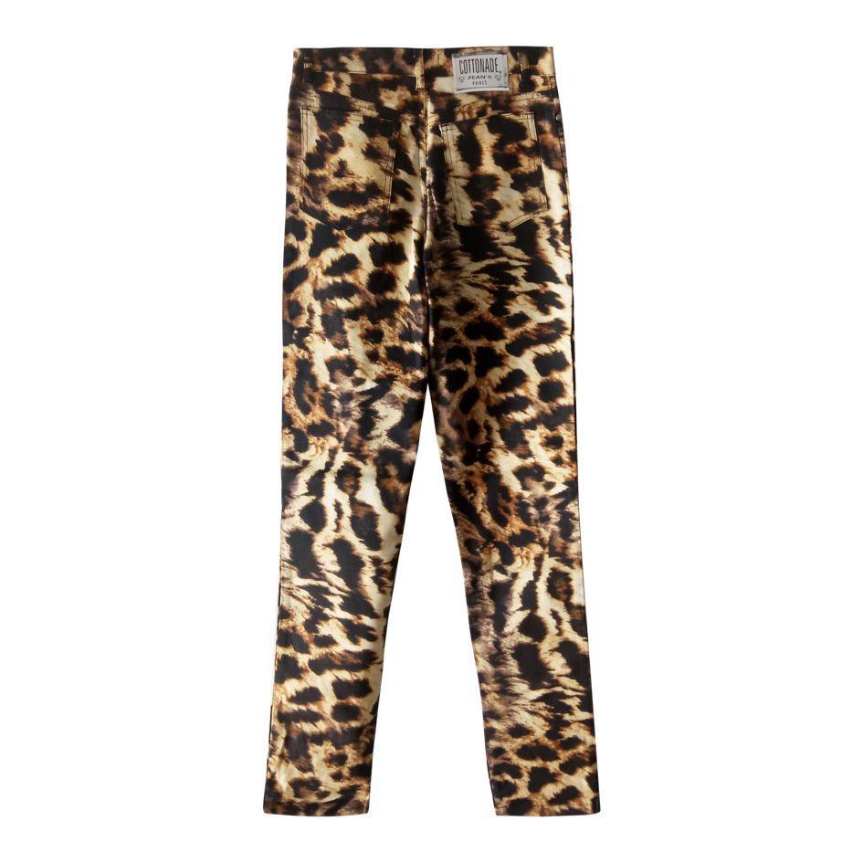 Pantalons - Pantalon léopard