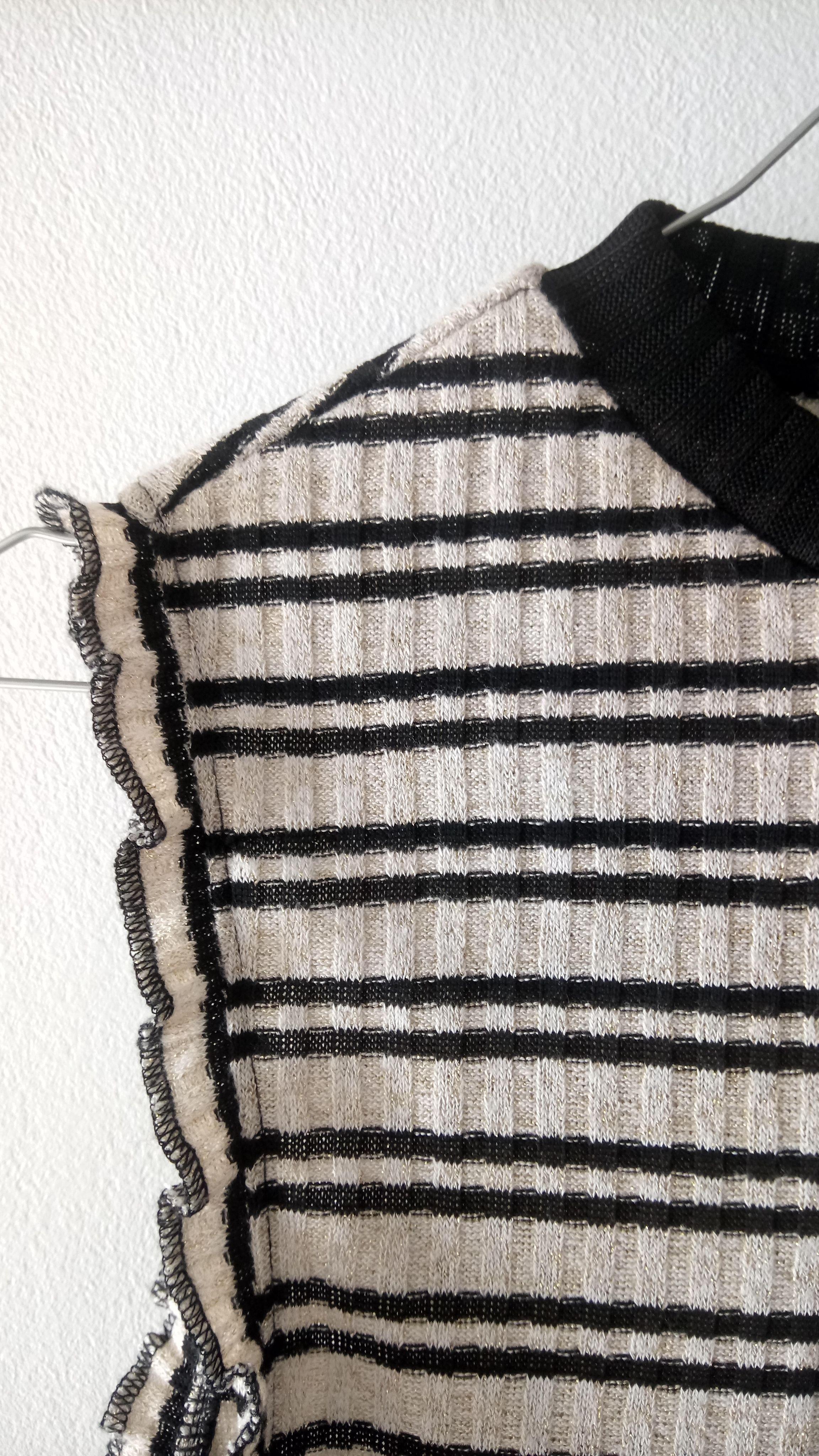 Tops - Top en coton et lurex