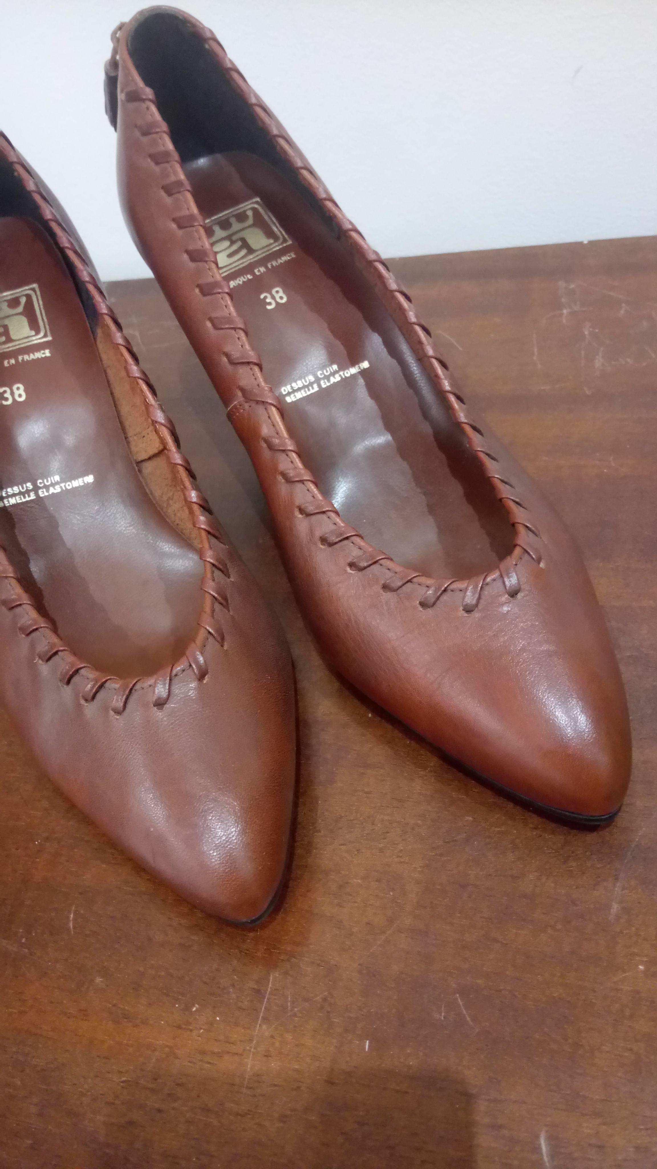 Accessoires - Escarpins en cuir