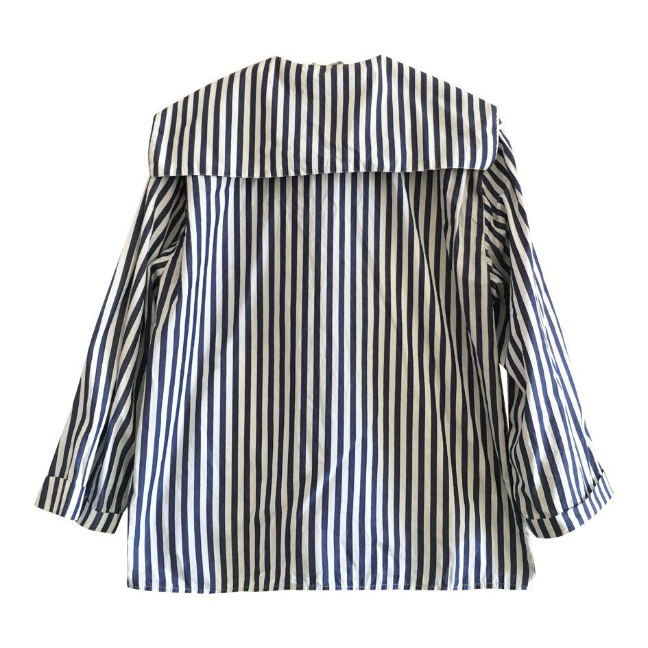 Tops - Chemise col marin