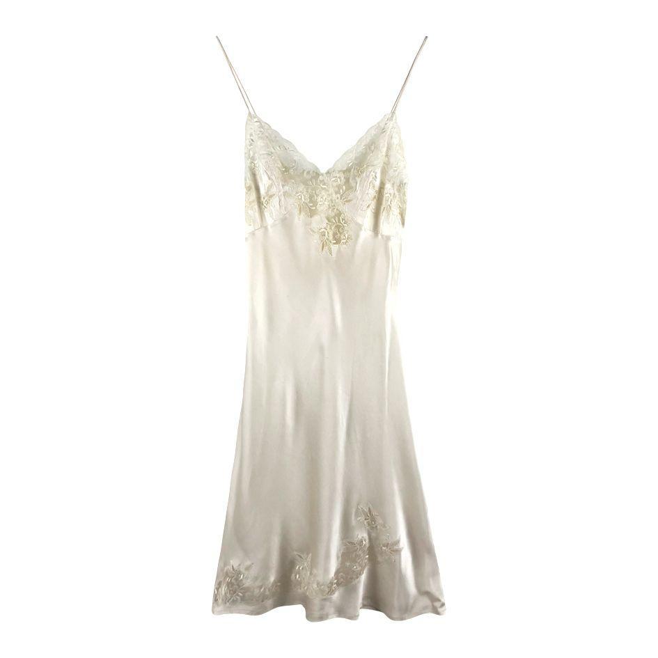 Robes - Robe nuisette en soie