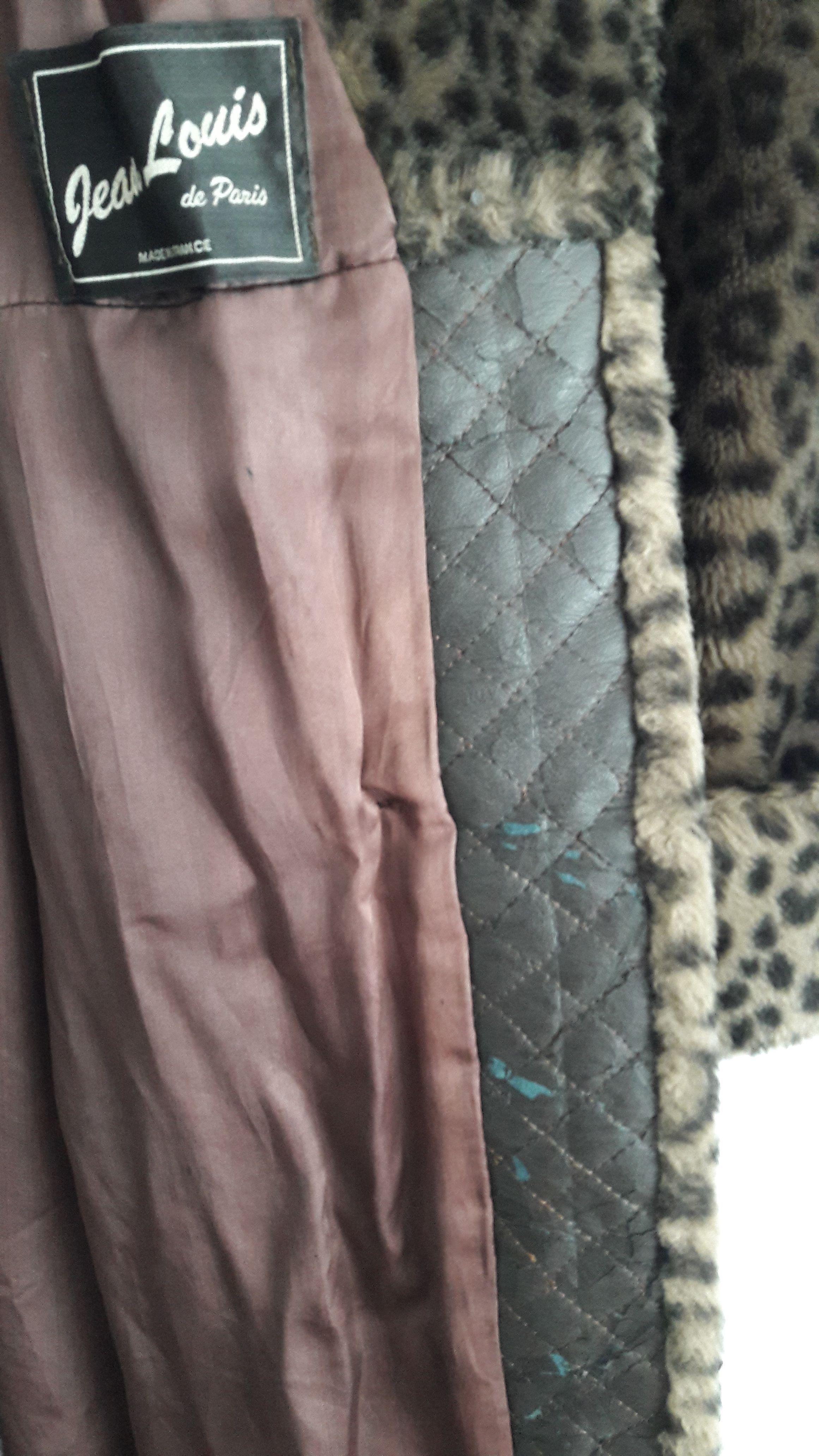Manteaux - Fausse fourrure léopard