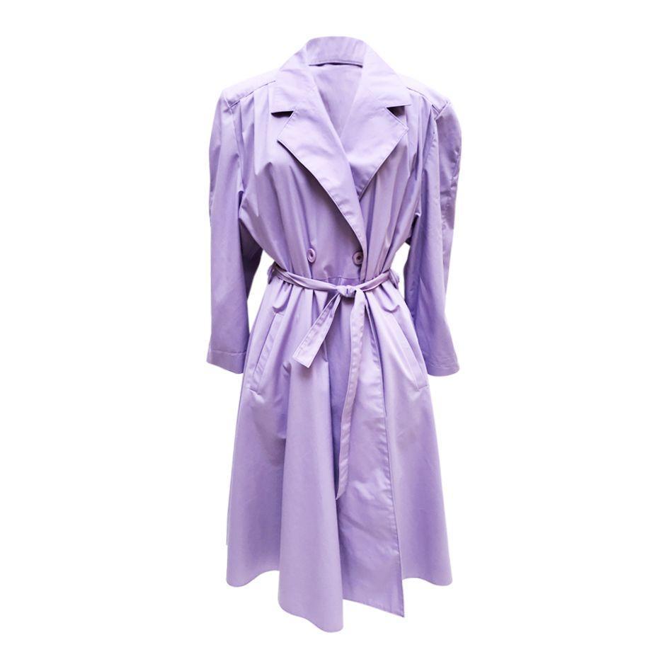 Manteaux - Trench violet