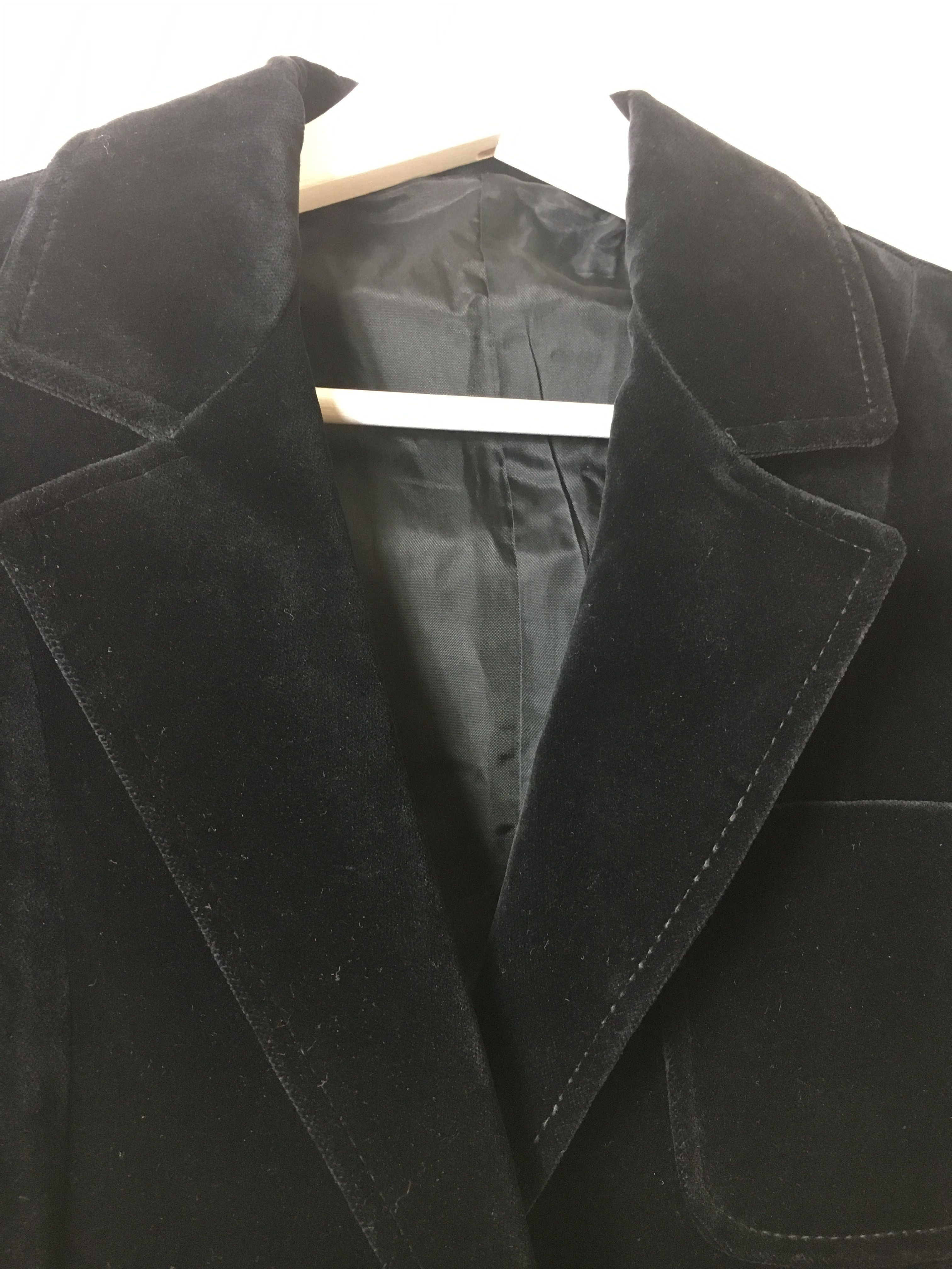 Vestes - Blazer velours noir