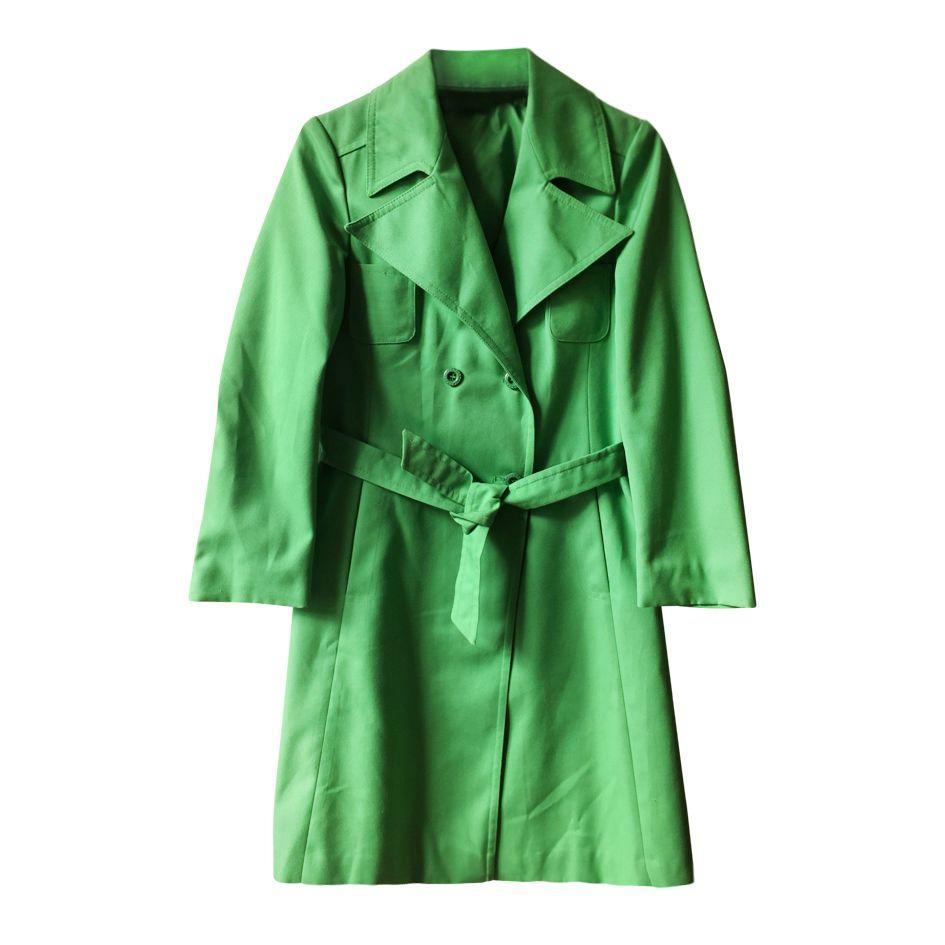 Manteaux - Trench vert