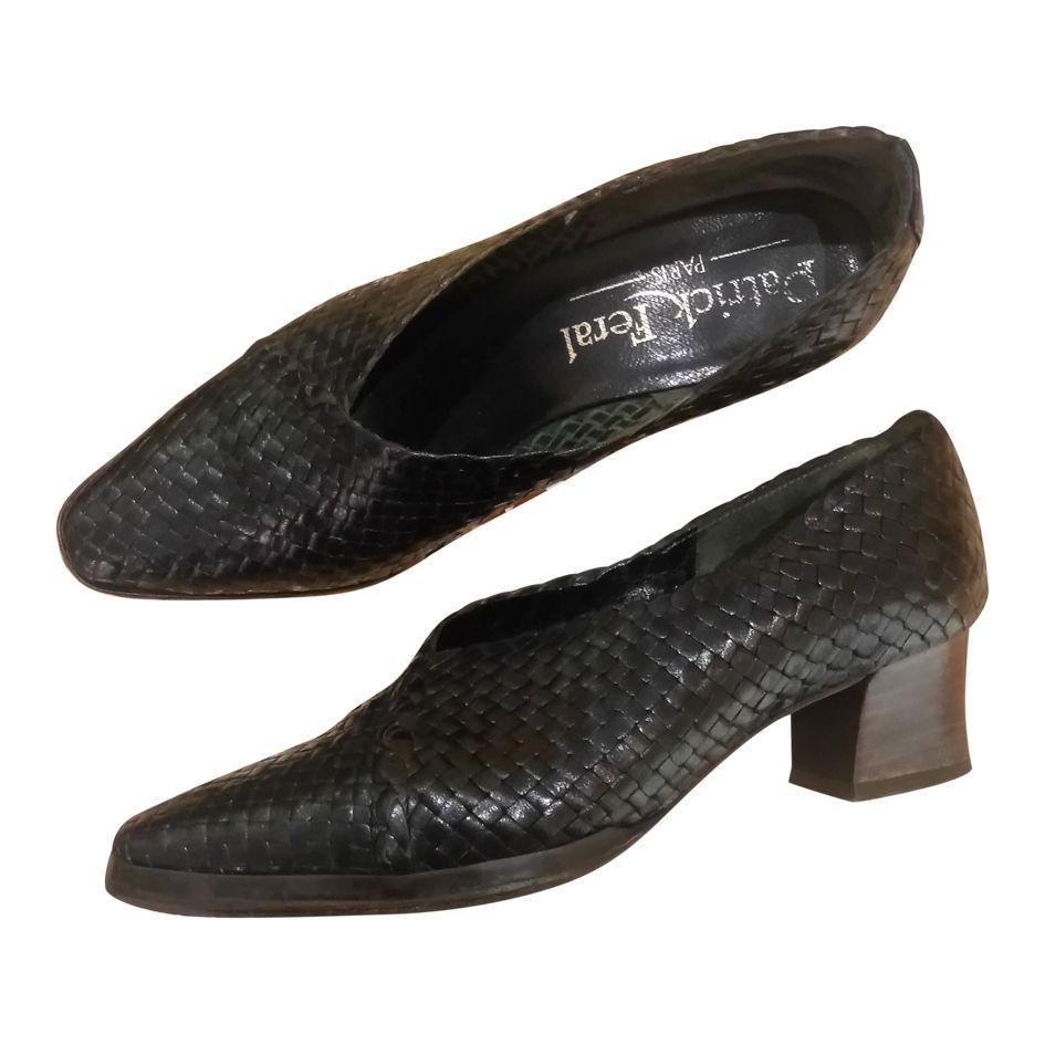 Accessoires - Chaussures cuir tressé