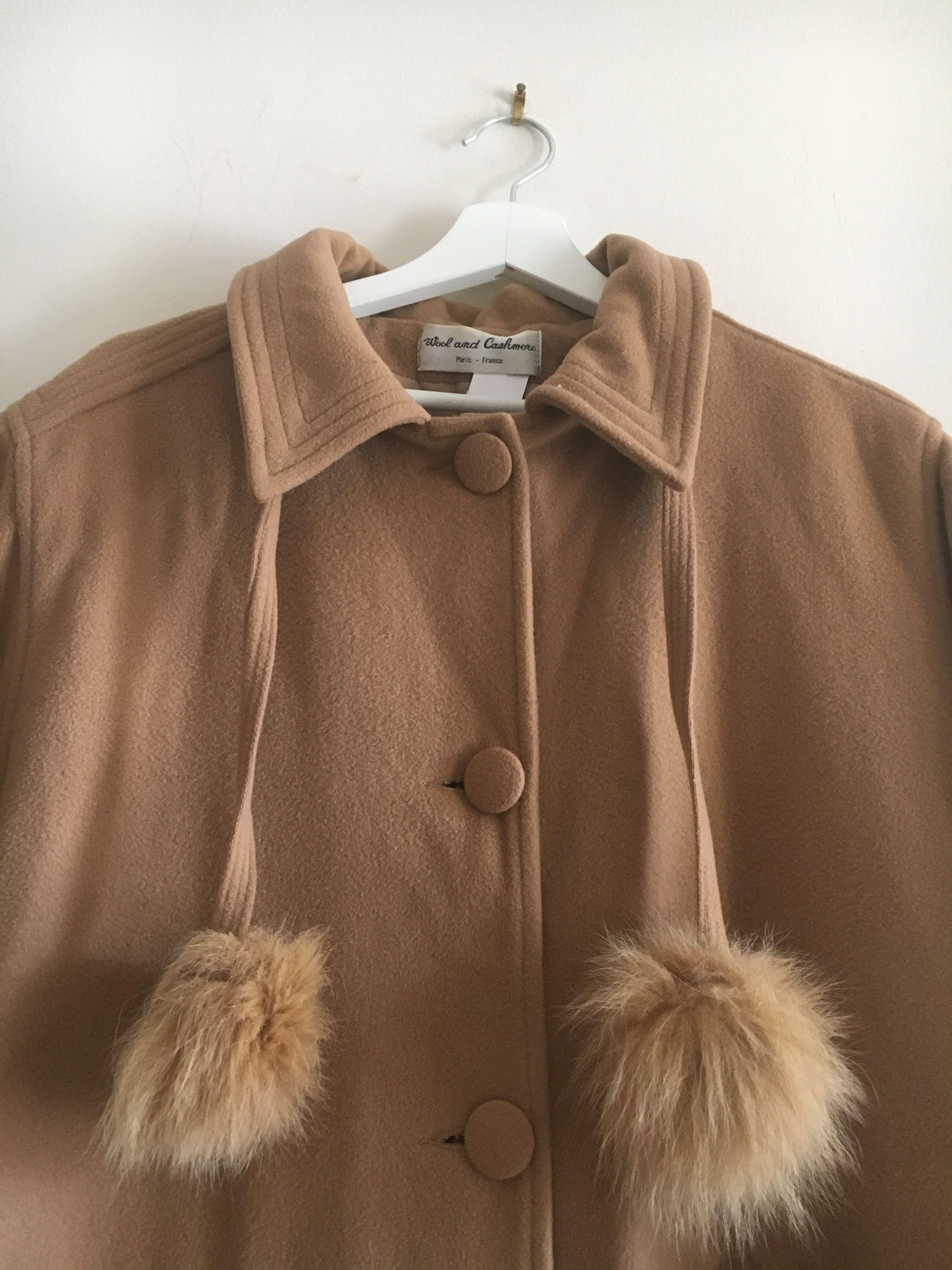Manteaux - Manteau en laine et cachemire