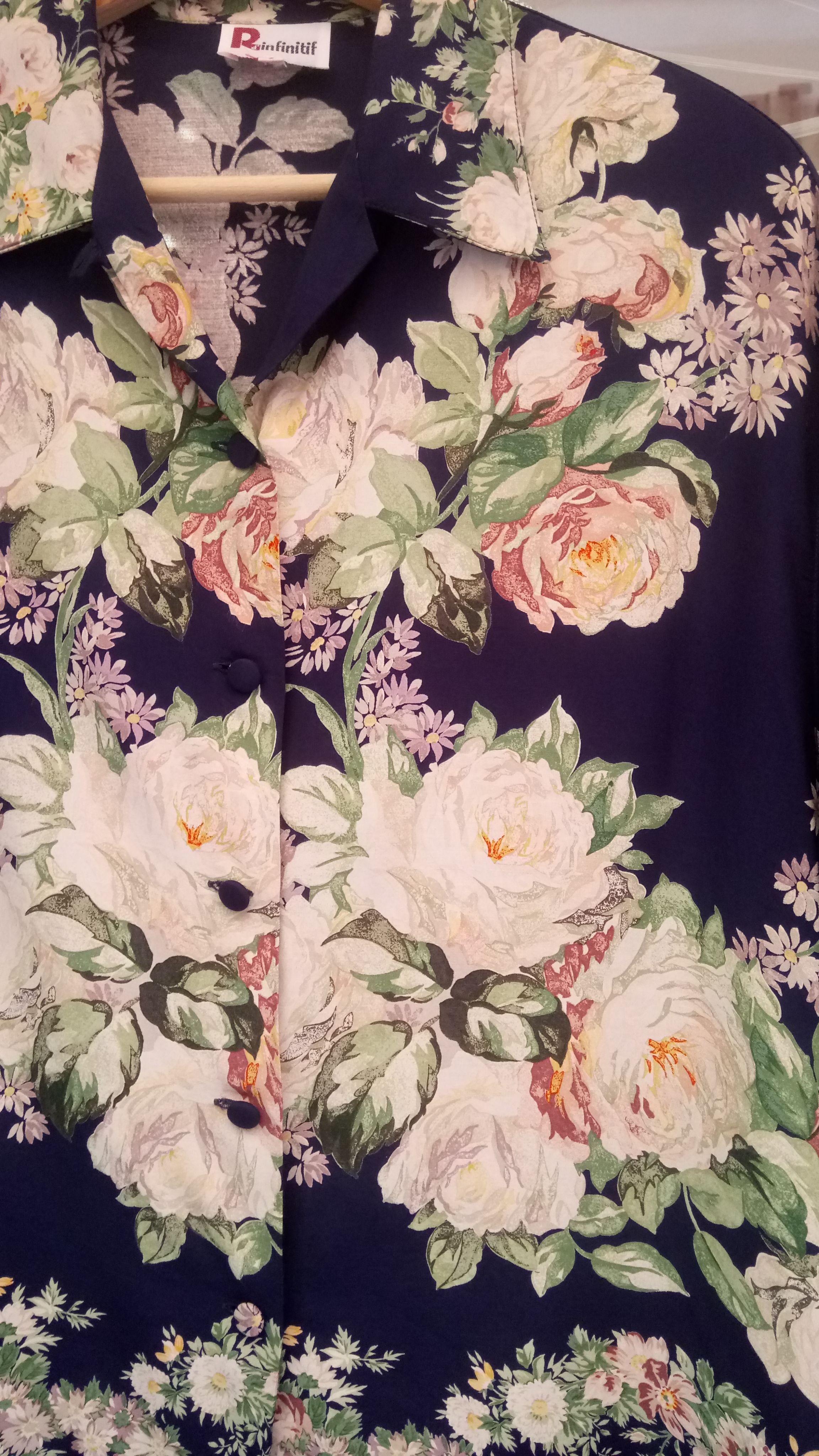 Tops - Chemise à fleurs