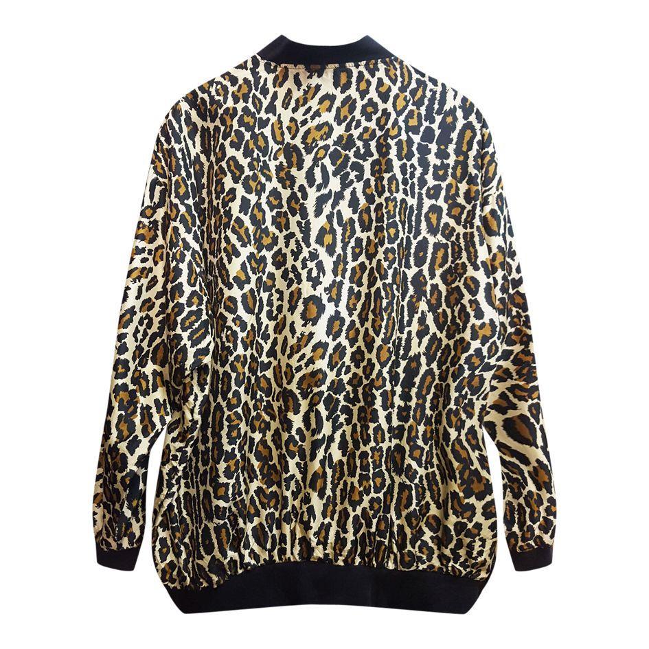 Vestes - Bomber léopard