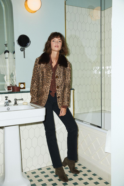 Vestes - Veste léopard