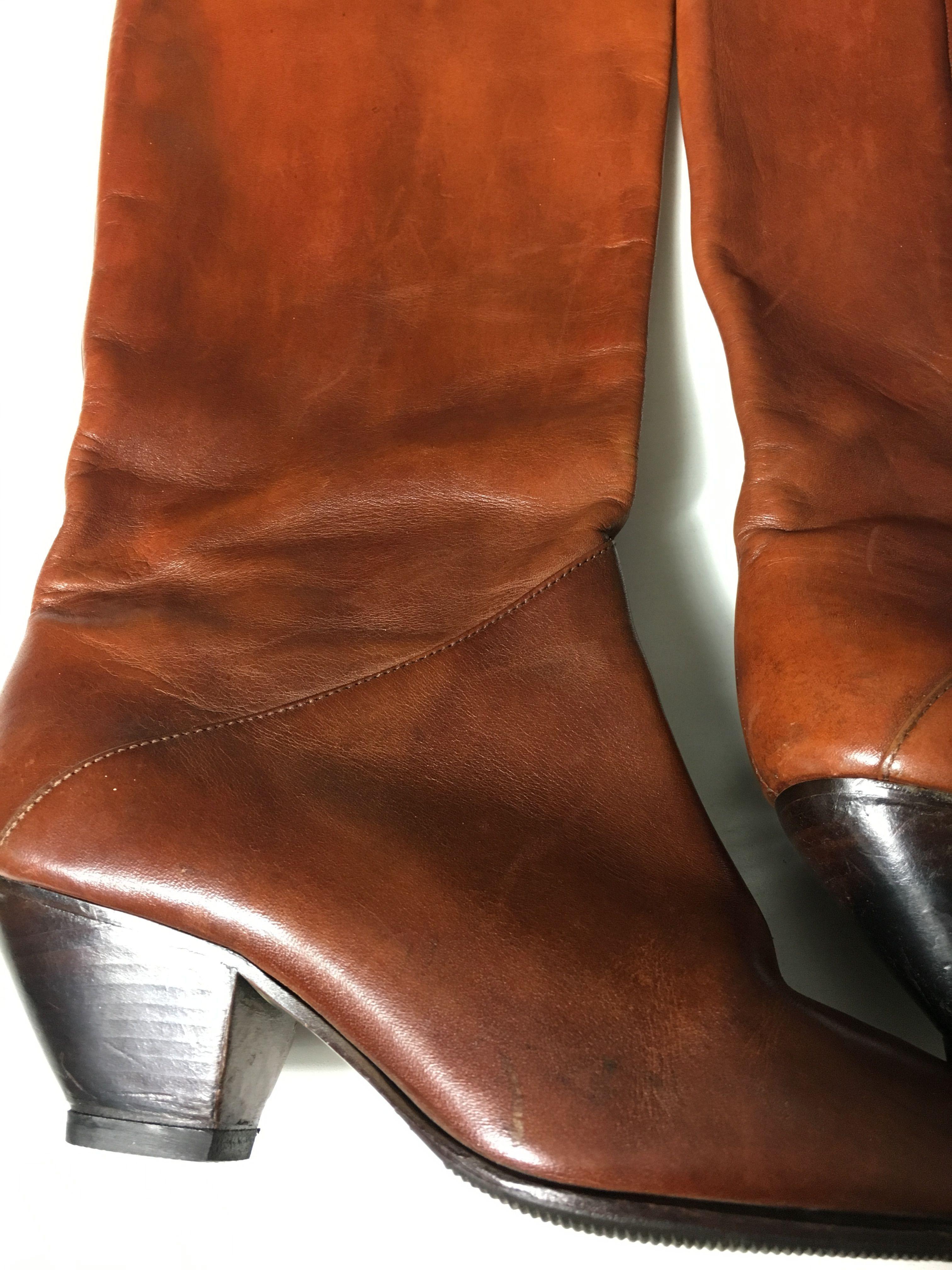 Accessoires - Santiags en cuir