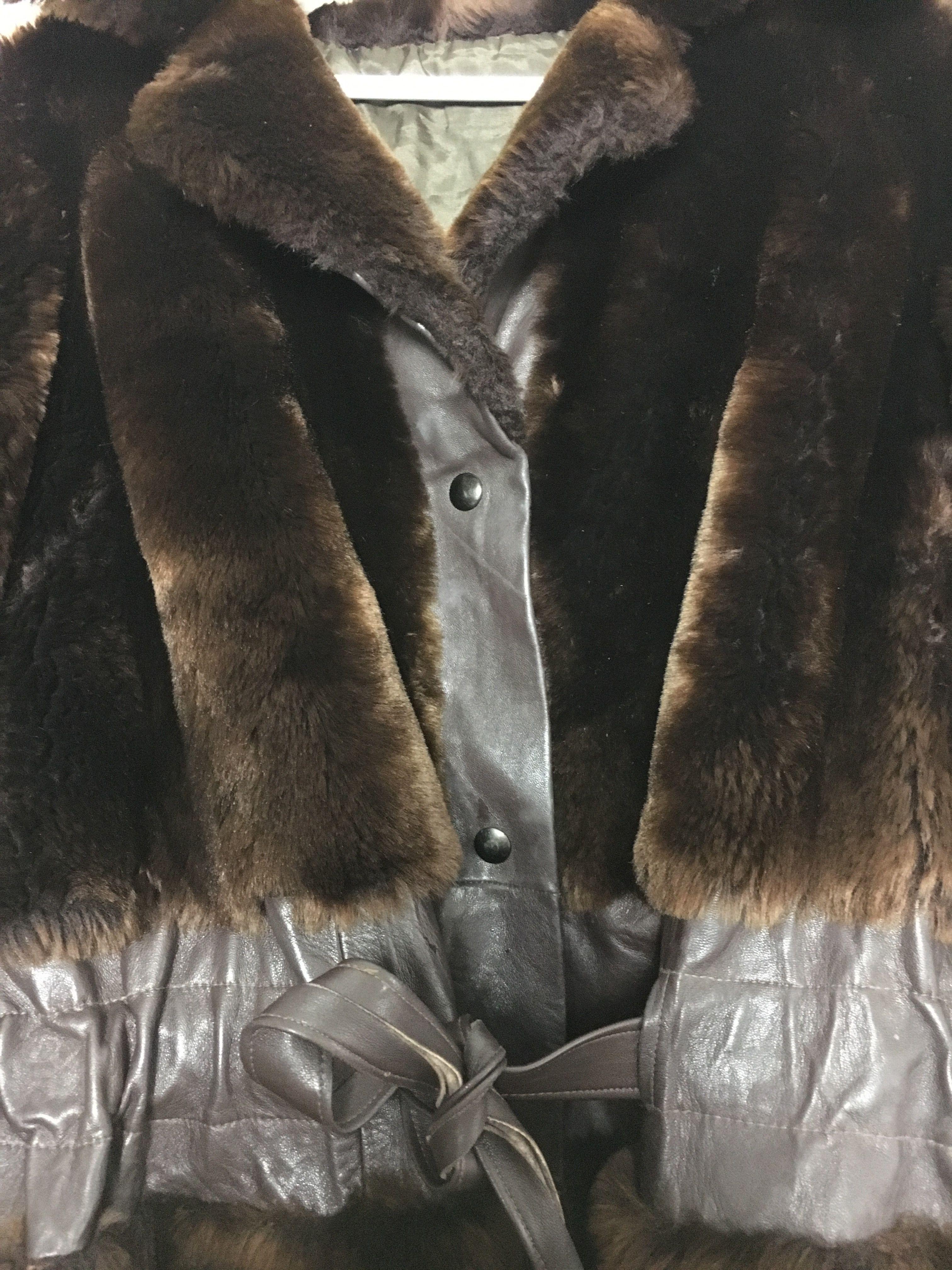 Manteaux - Veste fausse fourrure