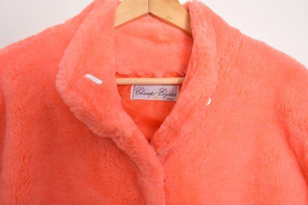 Manteaux - Fausse fourrure rose