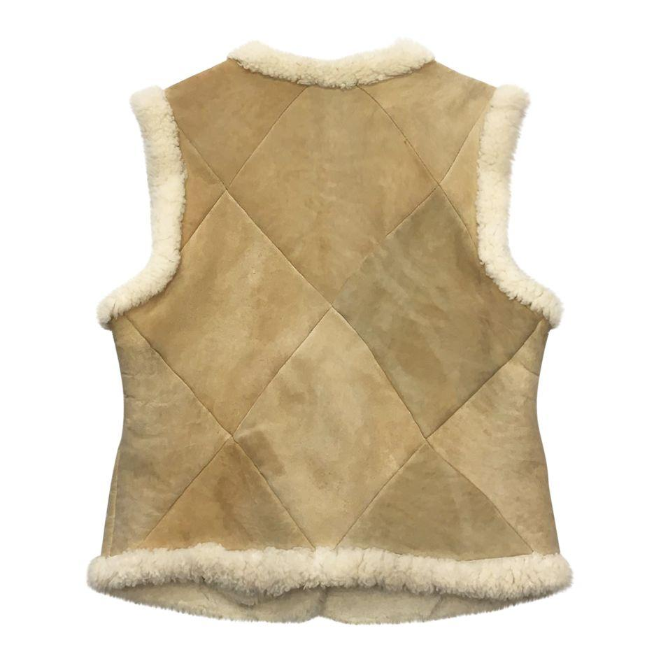 Vestes - Peau lainée sans manches
