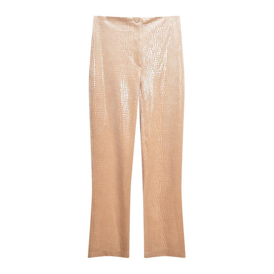 Pantalons - Pantalon imprimé croco