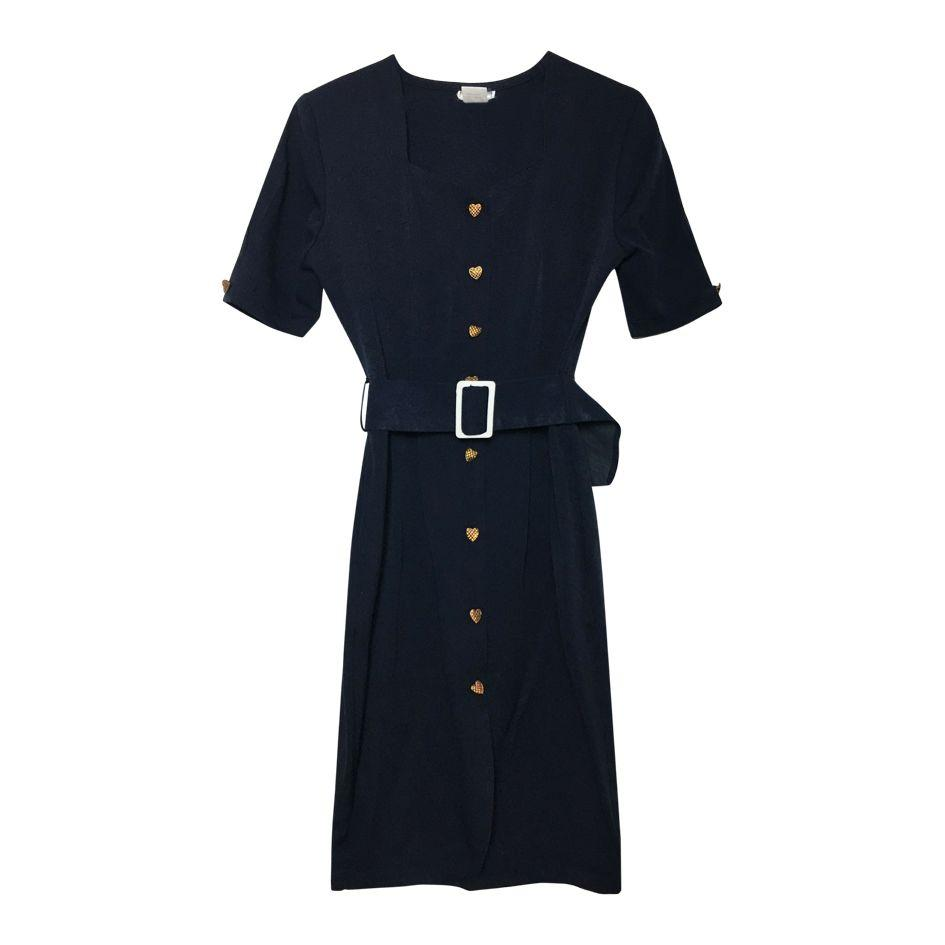 Robes - Robe bleu marine