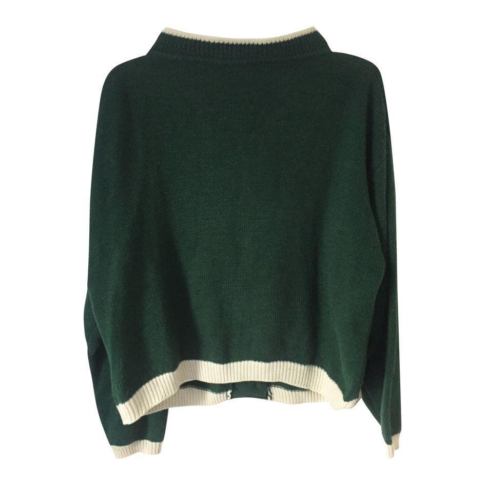 Pulls - Cardigan vert