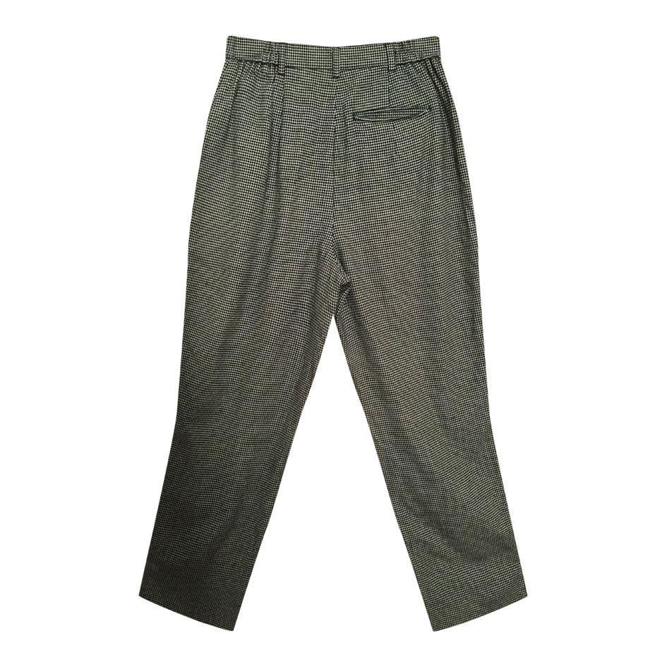 Pantalons - Pantalon en laine