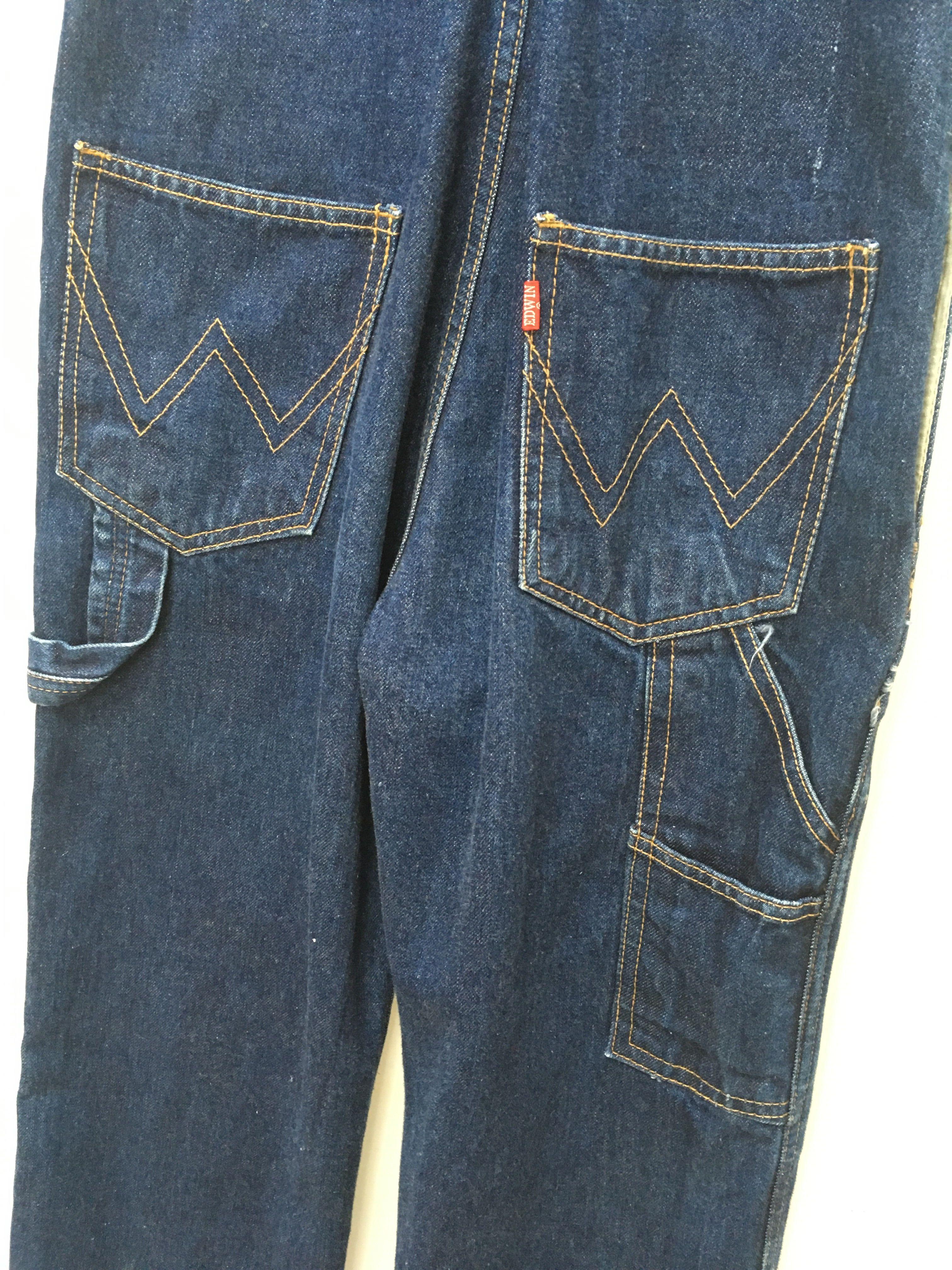 Combinaisons - Salopette en jean