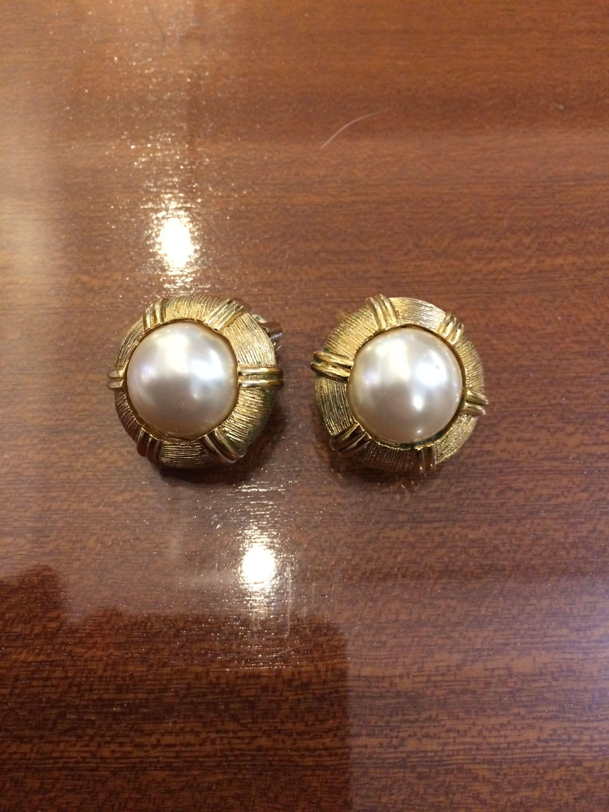Accessoires - Boucles d'oreilles dorées