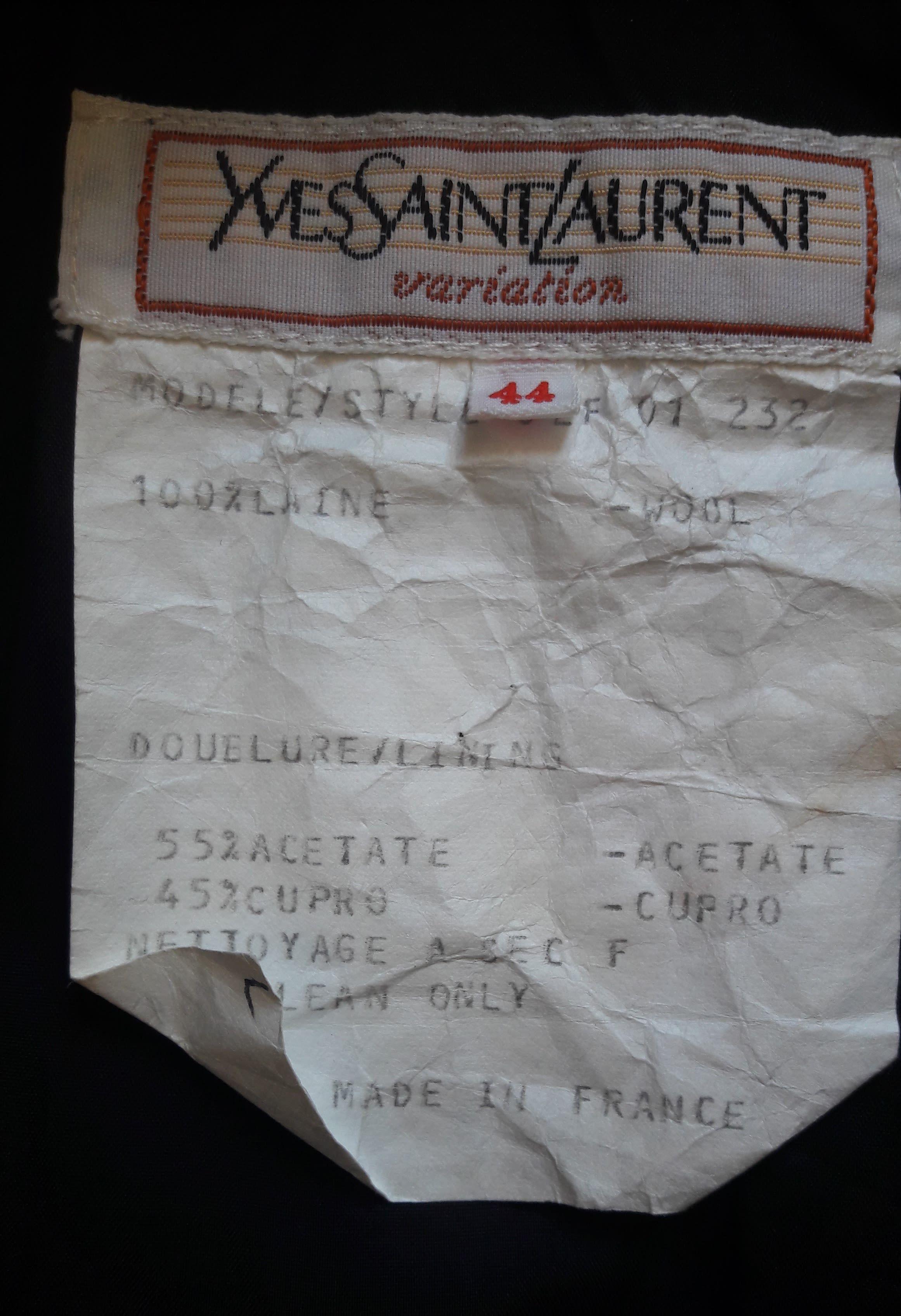 Jupes - Jupe Yves Saint Laurent