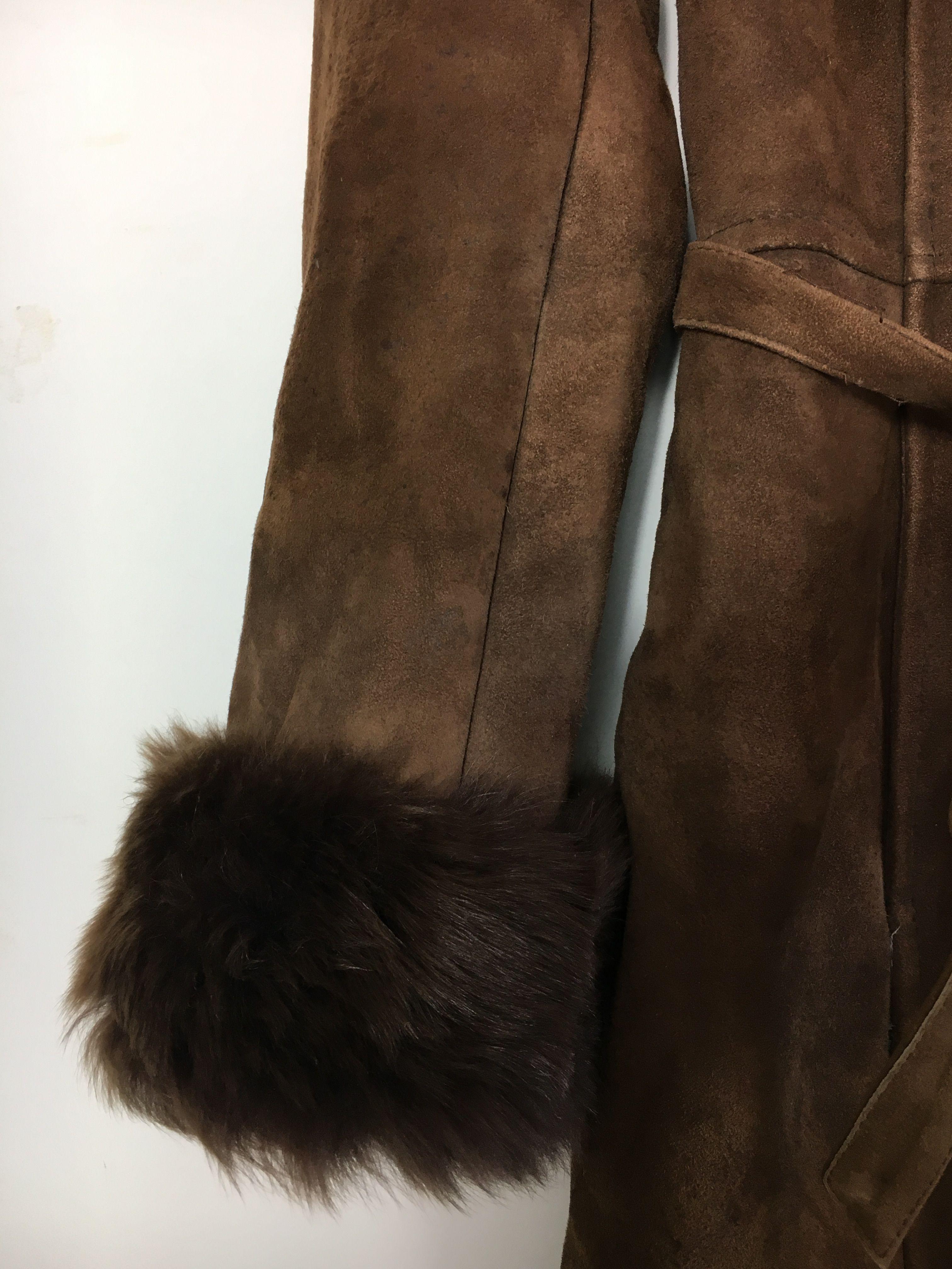 Manteaux - Manteau peau lainée et fourrure
