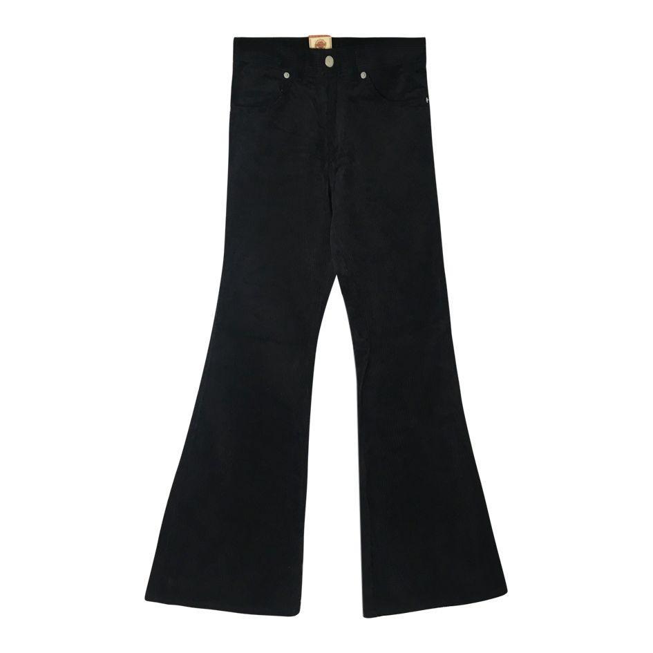 Pantalons - Flare en velours côtelé