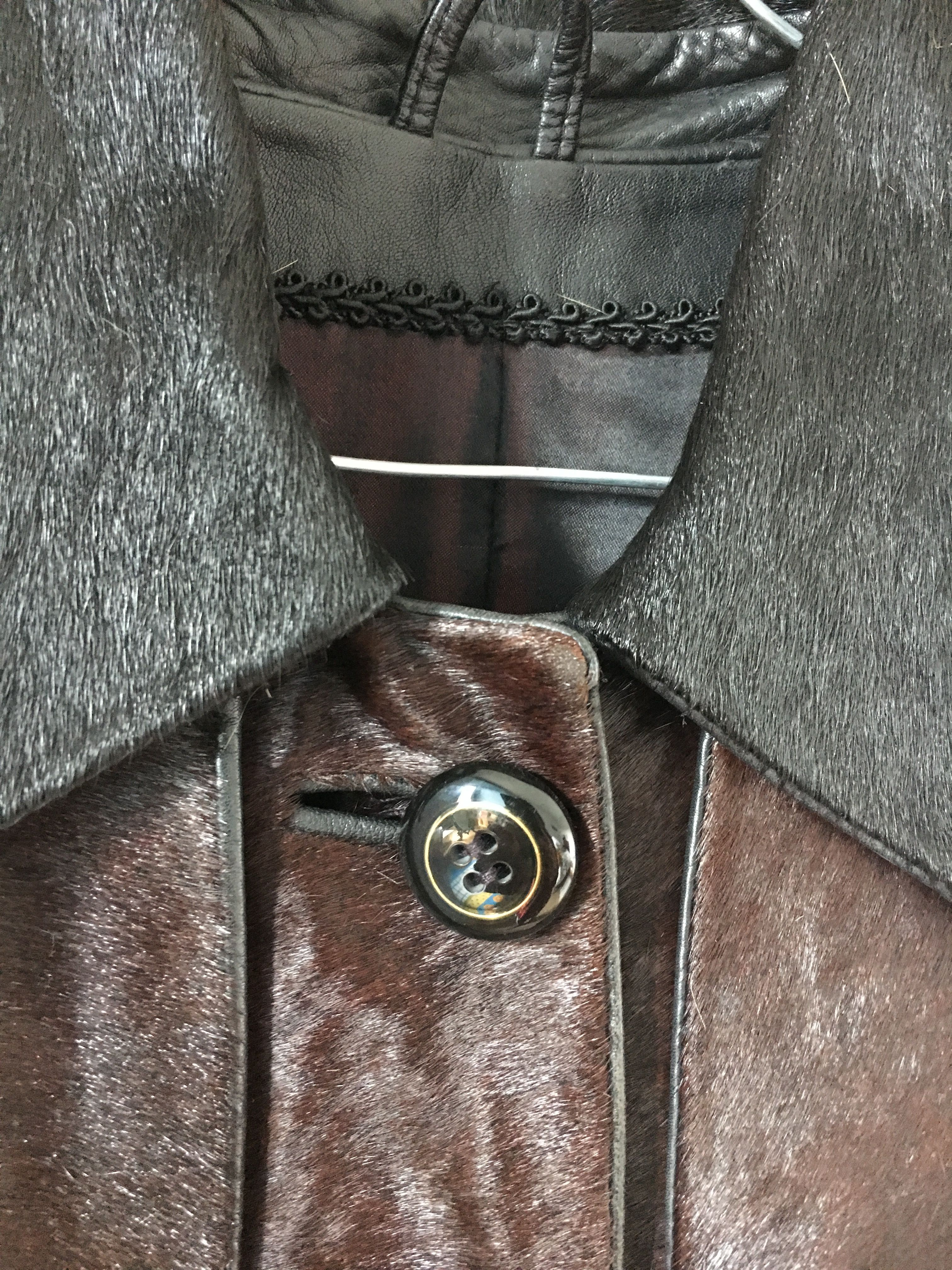 Manteaux - Manteau en cuir