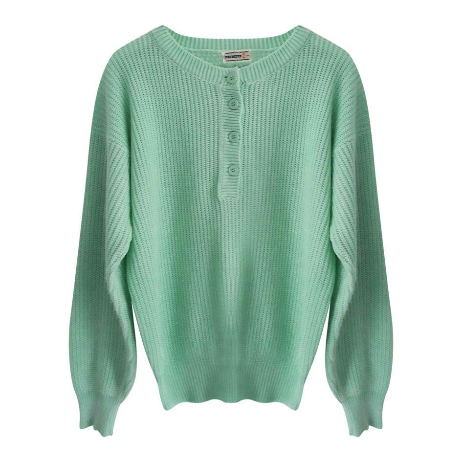 Tops - Pull à boutons