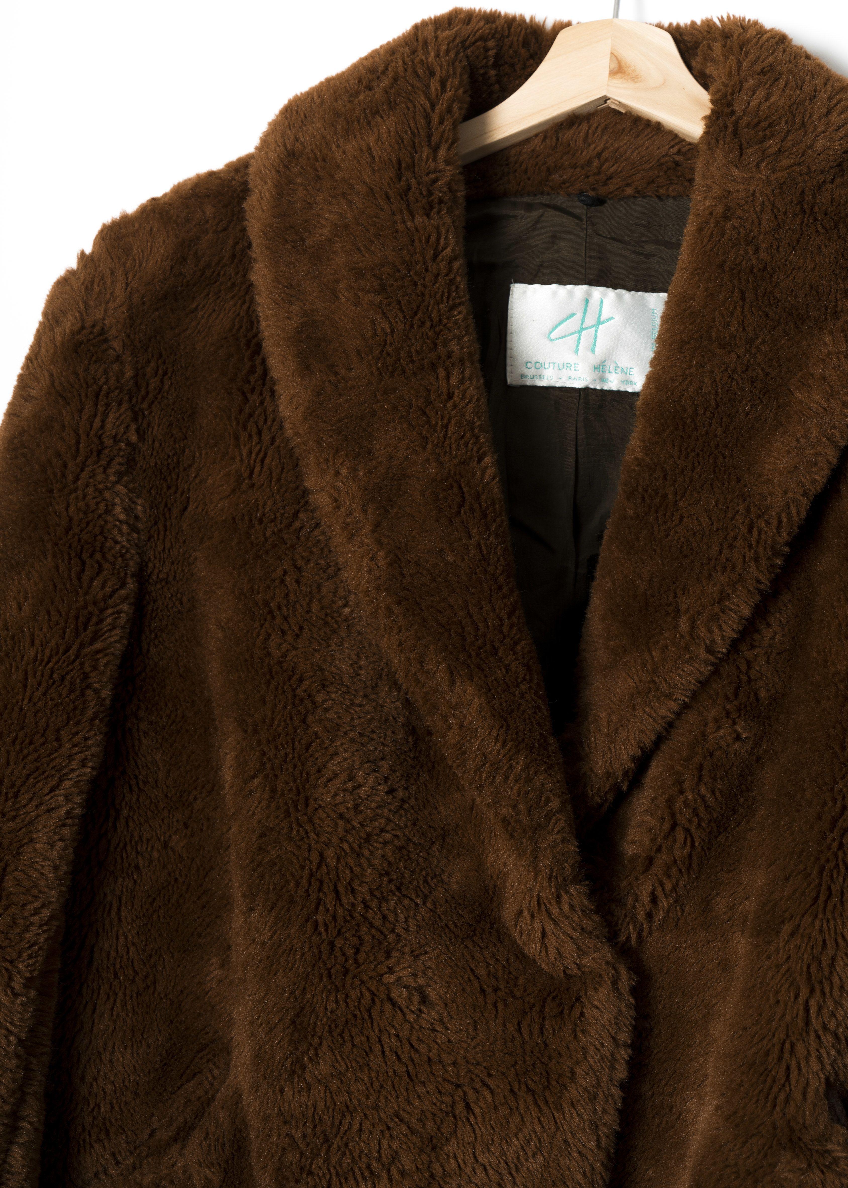 Manteaux - Veste en fausse fourrure