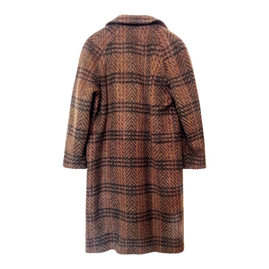 Manteaux - Manteau en lama et laine