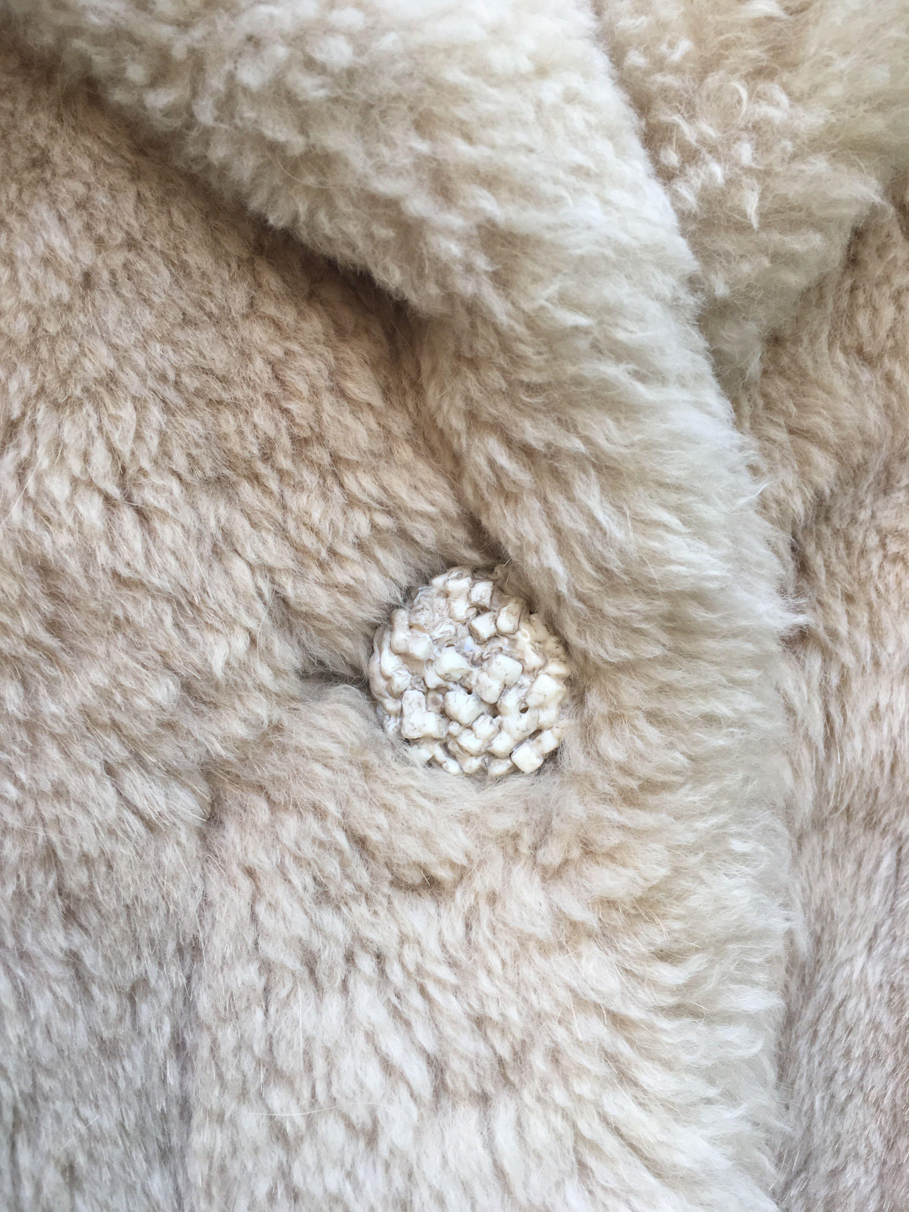 Vestes - Veste en mouton doré