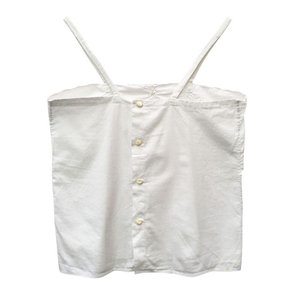 Tops - Caraco blanc