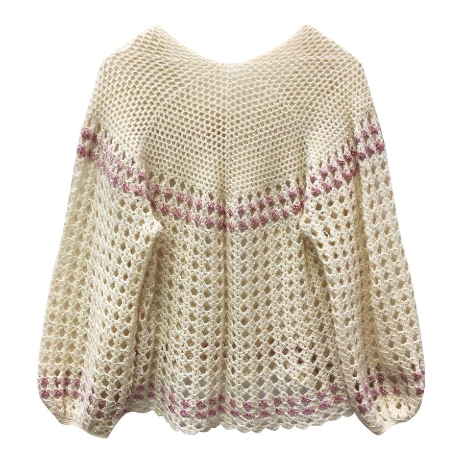 Pulls - Cardigan crochet