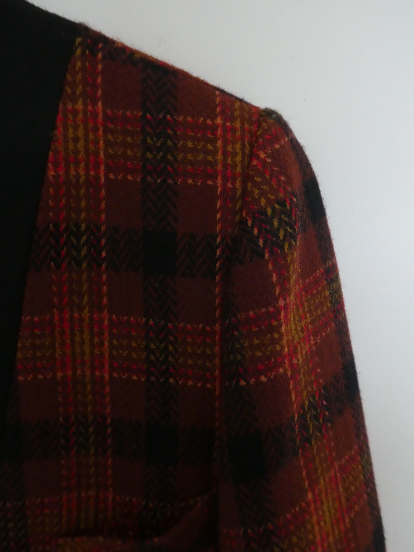 Vestes - Blazer tartan