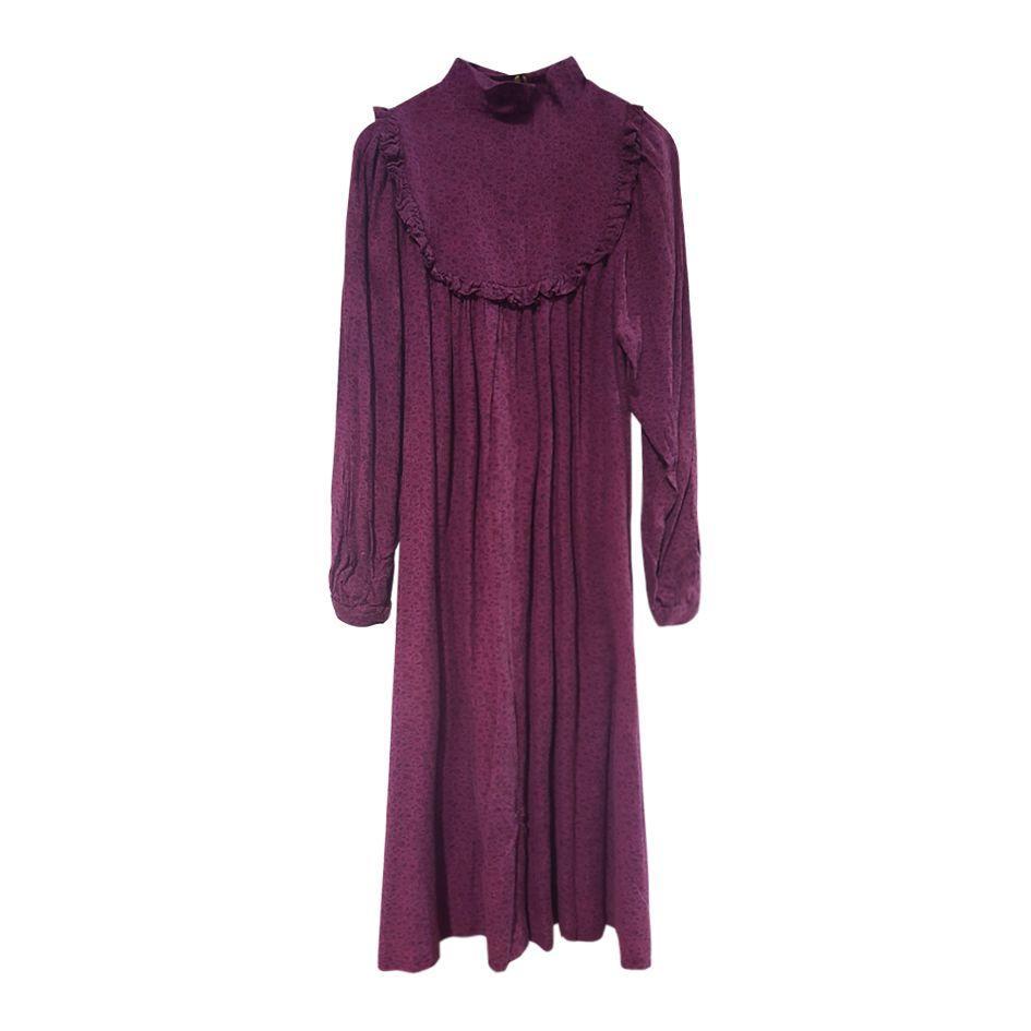 Robes - Robe col Victorien
