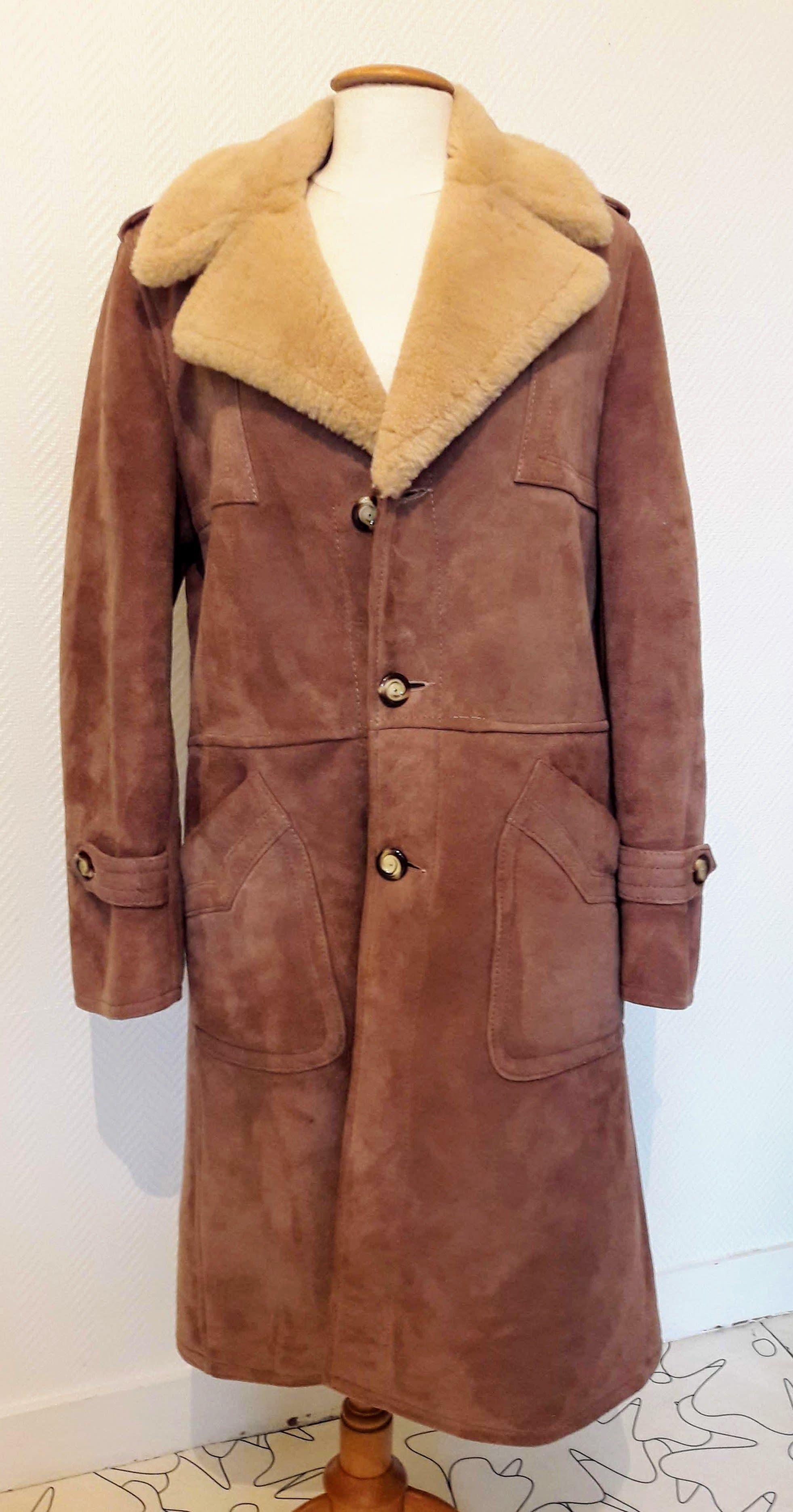 Manteaux - Manteau en peau lainée