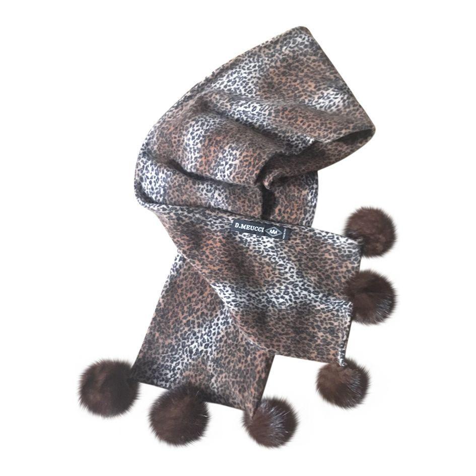 Accessoires - Echarpe léopard