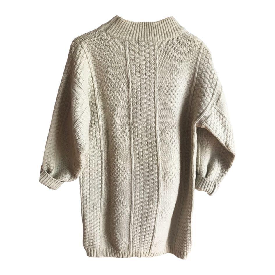 Robes - Robe pull irlandais