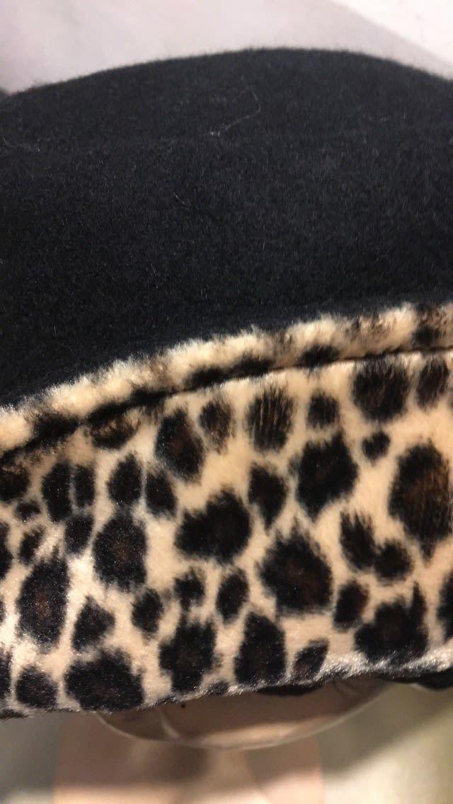 Accessoires - Chapeau détail léopard